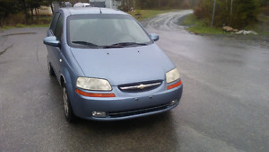 2007 Chev Aveo One Owner Since New