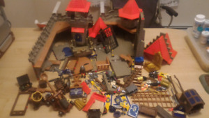 Multiple playmobil sets