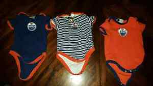 Three Oilers 3-Month Bodysuits