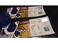 2x Front row Tickets to (NFL) indianapolis vs jaguars. Wembley