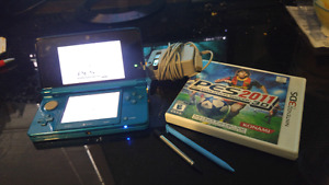 Nintendo 3DS with game.