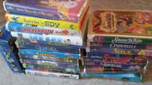 DISNEY VHS TAPES FOR SALE