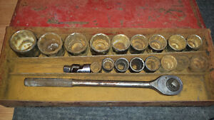"3/4"" drive socket set"