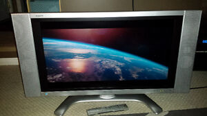 "Sharp Aquos 32 inch LCD TV with remote 32"" perfect condition."