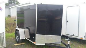 2017 5X8 Enclosed Trailer