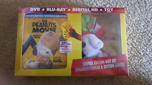 Peanuts the movie Blu-ray limited edition