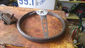 Grant woodgrain steering wheel