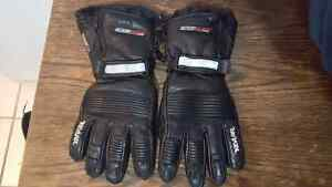 GKS XXL mens leather snowmobile gloves