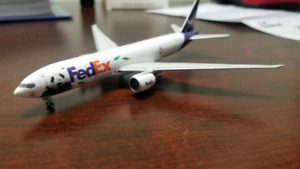 Diecast airplane 1:400 scale collection
