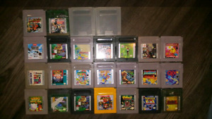 Gameboy Games for sale
