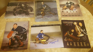 Signed Johnny Bower Photos