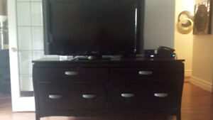 "50""TV Sony And. Designer cabinet"