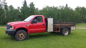 2002 Ford F550 4x4