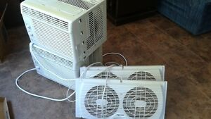 2 Air conditioners and fans