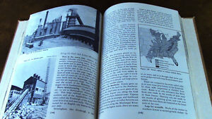 """Old """"Geography of our American Neighbors"""" School Book Kitchener / Waterloo Kitchener Area image 2"""