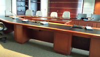 Executive Boardroom/Conference Table - Wood - Custom Made