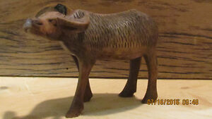Vintage Carved Bison