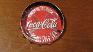Coca-Cola Paperweight - Tennis Theme
