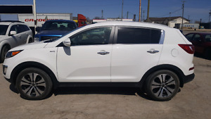 2013 Kia Sportage EX Luxury AWD SAFETIED