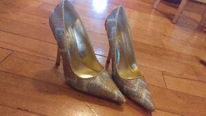 Gorgeous Sparkle Aldo Heels, Size 38 Excellent Condition. St. John's Newfoundland image 3