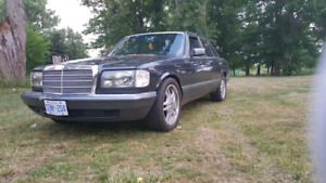 1989 Merceds Benz SE 300 low mileage for sale !!!