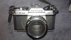 Asahi PENTAX Camera plus accessories