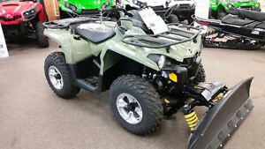 CAN-AM PLOW PACKAGE INCLUDED ( $46.00 )TAX IN WEEKLY  5 in stock