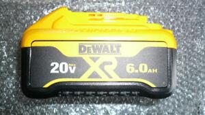 Genuine DEWALT DCB206 6.0Ah 20v Battery, Brand New