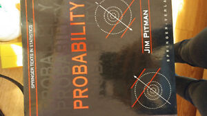 Probability by Jim Pitman (springer texts in statistics)