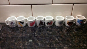 NHL mini mugs