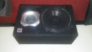 "Pro Bass JBL 12"" powered subwoofer"