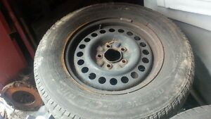 snows and rims GM 5bolt Kitchener / Waterloo Kitchener Area image 1