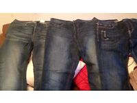 "x3 Pairs of Men's Jeans. 36"" waist"