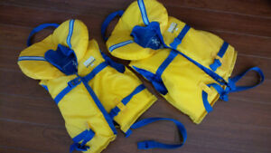 Two Children's Life Jackets $30