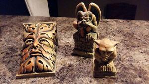 Stone Gargoyles and a Print