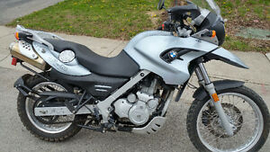 Immaculate and low KM F650GS - ready to ride!