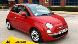 2015 Fiat 500 1.2 Lounge (Start Stop) with B Manual Petrol Hatchback