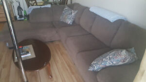 Brown Sectional Couch, Furniture and Appliances for Sale