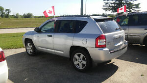 """2008 Jeep Compass Sport    """" All Wheel Drive """"     $6897 + Taxes"""