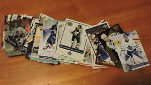 Over 100 Different Toronto Maple Leaf Hockey Cards