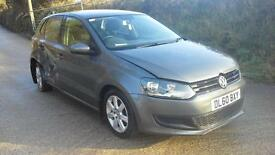 2010 Volkswagen Polo 1.2TDI ( 75ps ) SE DAMAGED SPARES OR REPAIR SALVAGE