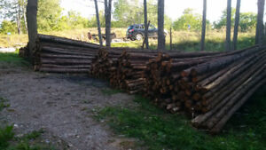 Cedar Fence Rails & Posts For Sale