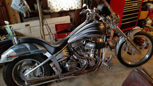 Harley Custom softail chopper
