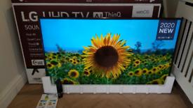 """LG UHD 4K 50"""" AI ThinQ TV"""