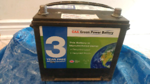 Car battery 550cca used good condition