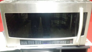 Stainless Samsung Over the Range Microwave