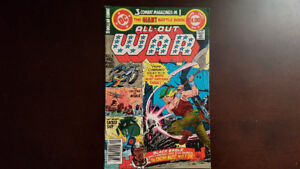 All-Out War #5 from DC Comics (1980)