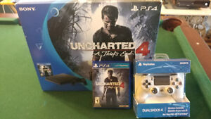 Ps4 Slim with receipt and extra controller 375 firm
