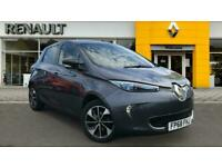 2018 Renault Zoe 65kW i Dynamique Nav Quick Charge 41kWh 5dr Auto Electric Hatch
