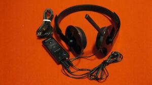 Sony USB Audio Headphones / Connection Box.  Model UAB-350.